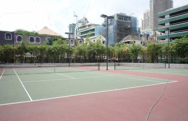 The Met Sathorn Bangkok Tennis Courts